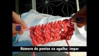 Repeat youtube video Ponto Fantasia em Tricô
