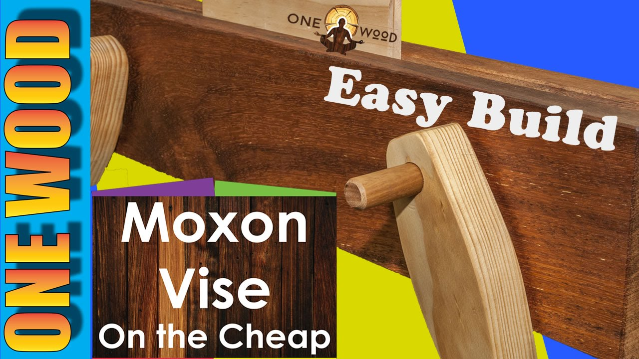 Woodworking Projects How To Make A Moxon Vise On The Cheap Youtube