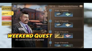 LifeAfter - Weekend Fernando Quest Hope 101 Complete 10/10