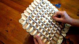 Repeat youtube video Butterfly Loom Magic Board Pattern 1