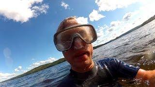 Extreme underwater GEOCACHE!