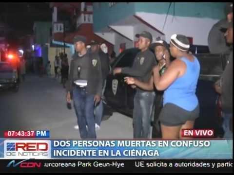 Dos personas muertas en confuso incidente en La Ciénega
