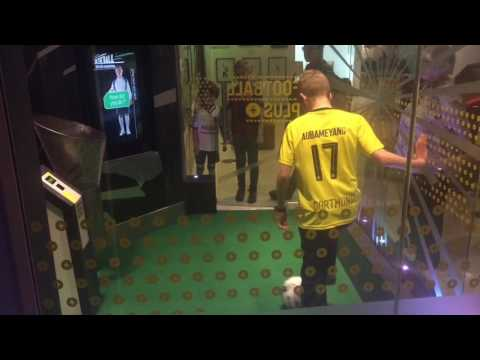 Hazo's Footy Challenges with 'Me Nan'!! - Manchester National Football Museum - April 2017