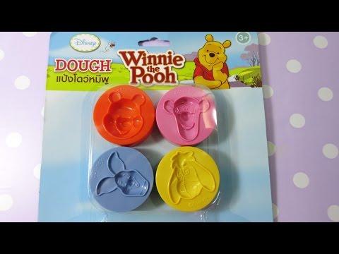 เล่นแป้งโดว์ตามพิมพ์ หมีพูห์และเพื่อน | Doh Pooh Disney