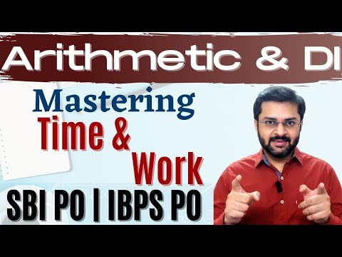 Time & Work | SBI PO 2017 Online Classes #DAY 47