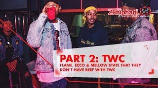 In our recent chat with former TWC members Flame, Ecco and Mellow, ...