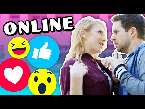 IF PEOPLE ACTED LIKE THEY DO ONLINE