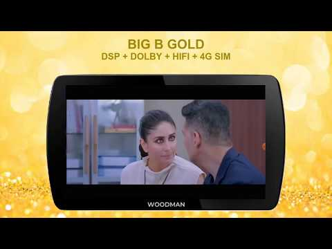 Woodman BigB Gold Android Stereo for Tata Hexa with 4G Sim Slot & DSP-32 EQ+Dolby+Hi-Fi Sound Output