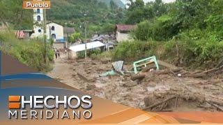 Declaran emergencia en Puebla tras paso del huracán Earl
