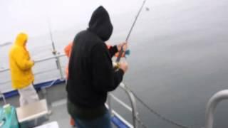 コディアック島沖での釣り