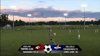 9/20/17 - VHS Girls Soccer vs Millville