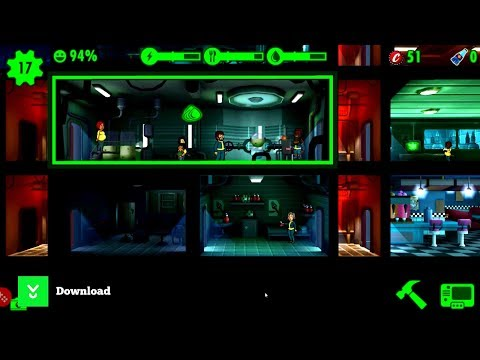 Fallout Shelter - A famous post-apocalyptic life building simulator