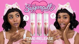 SUGARPILL SPARKLING LIP COLORS ❤ REVEAL & SWATCHES