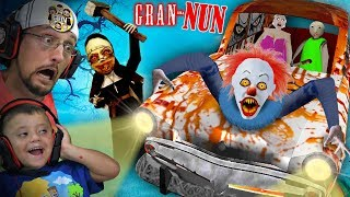 Something Is Wrong With Granny Game!! Gran-nun?  Fgteev Plays Crazy Mods