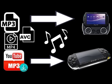 Youtube 2 MP3 any computer then Transfer to your Sony PSP Playstation Portable - No Program download