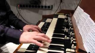 J.S. Bach on Hammond: Trio sonate III BWV 527 Vivace