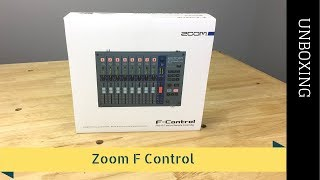 Zoom FRC-8 F-Control Unboxing - 2017