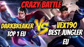 TOP 1 EU Playing Superman vs Vex190  [1v1] | Arena of Valor Superman Gameplay
