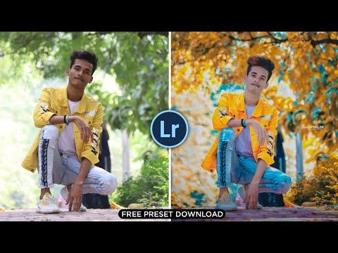 Lightroom Photo Editing Background Color Change | Orange & Yellow Preset - SK EDITZ