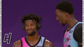 Bam Crashes Jimmy Butler Post Game Interview - Heat vs Lakers | February 20, 2020-21 NBA Season