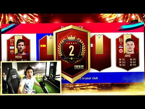 2ND IN THE WORLD TOP 100 REWARDS!! RED MESSI?? FIFA 19 thumbnail