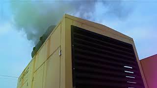 Cold start of Doosan diesel generator (-1F)