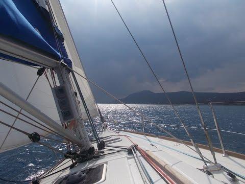 2015-10-08 RYA sailing course, Sail First