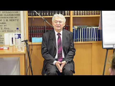 Edgware United Synagogue Holocaust Memorial Day Guest Speaker and Survivor Harry Spiro