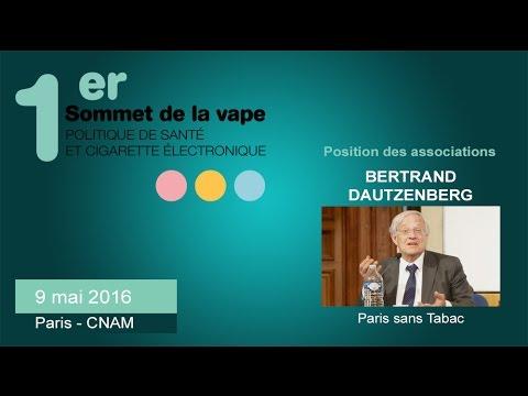 Positions des associations : Paris sans Tabac - #sovape