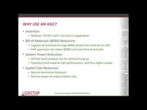 The Basics and Benefits of ASICs