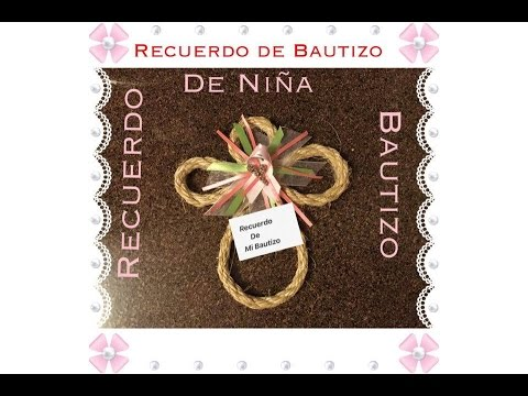 Recuerdos de bautizo de ni a sharis diaz youtube for Recuerdos para bautizo nina