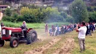 30 men vs 1 tractor