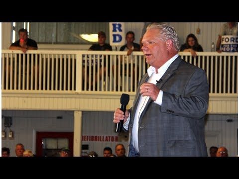 Ford rallies Tory base in Conservative stronghold