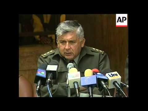COLUMBIA: WIDOW OF ALLEGED DRUG BARON CAPTURED