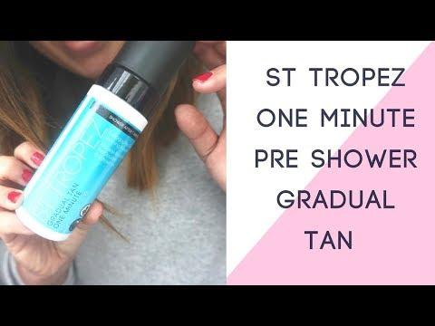 ST TROPEZ ONE MINUTE GRADUAL TAN | AD