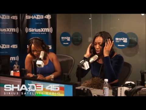 Ms. Hustle Freestyles on SHADE 45 w/ Legendary DJ KAY SLAY