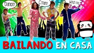 BAILES LOCOS y divertidos * Bailamos EN CASA thumbnail