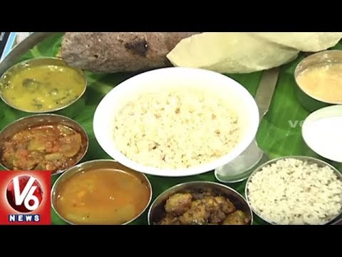 Millets Organic Food : City People Shows Interest To Eat Healthy Food | Hyderabad | V6 News