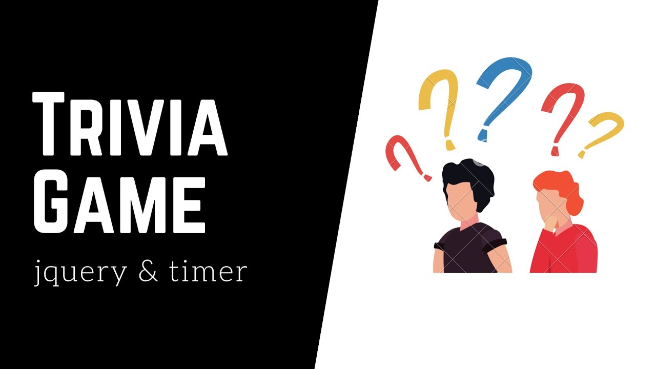 How to build a Trivia Game – jQuery & JavaScript timer – App