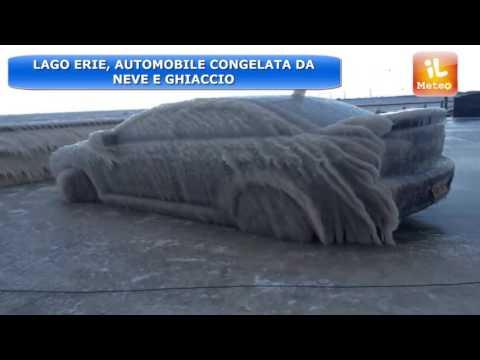 METEO NEWS : LAGO ERIE, UNA LASTRA DI GHIACCIO