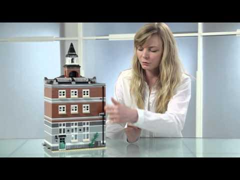 Town Hall - LEGO Creator - Designer Video 10224