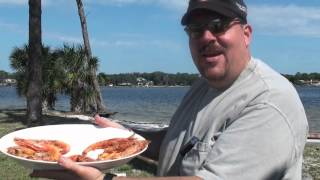 Grilled Seafood: Gulf Red Snapper And Ruby Red Shrimp