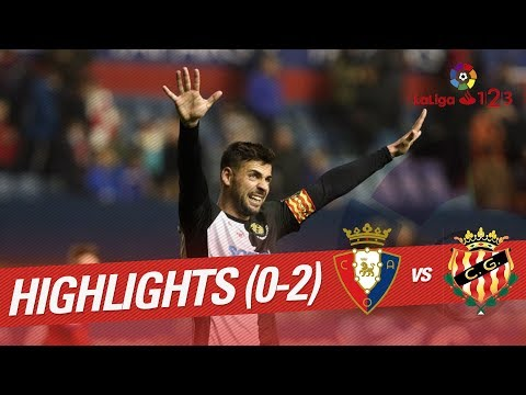 Resumen de Osasuna vs Nàstic (0-2)