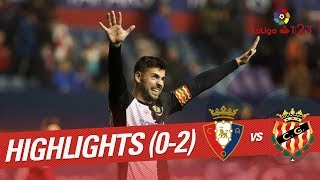 Video Gol Pertandingan Osasuna vs Gimnastic de Tarragona