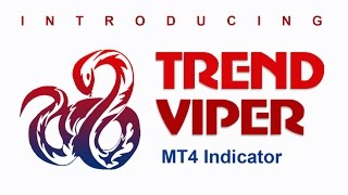 Trend indicator for MT4 with Buy/Sell Trading Signals - TrendViper