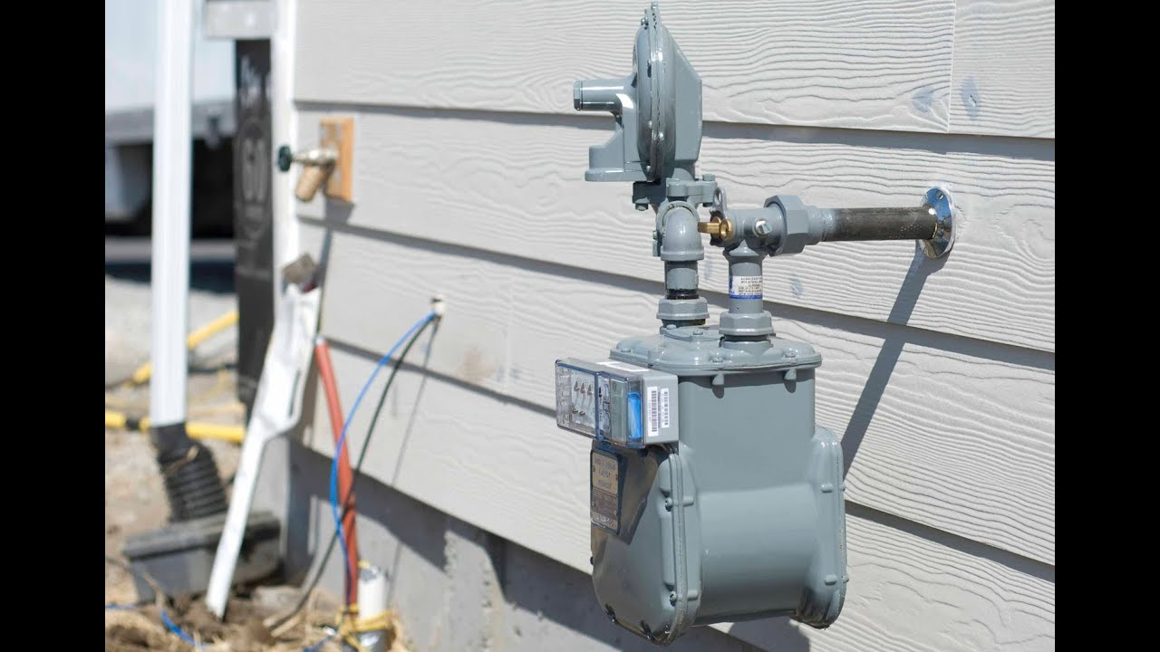 medium resolution of installing natural gas service new home construction
