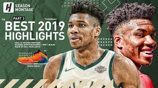 Giannis Antetokounmpo BEST MVP Highlights & Moments from 2018-19 NBA Season! BEAST! (LAST Part 3)