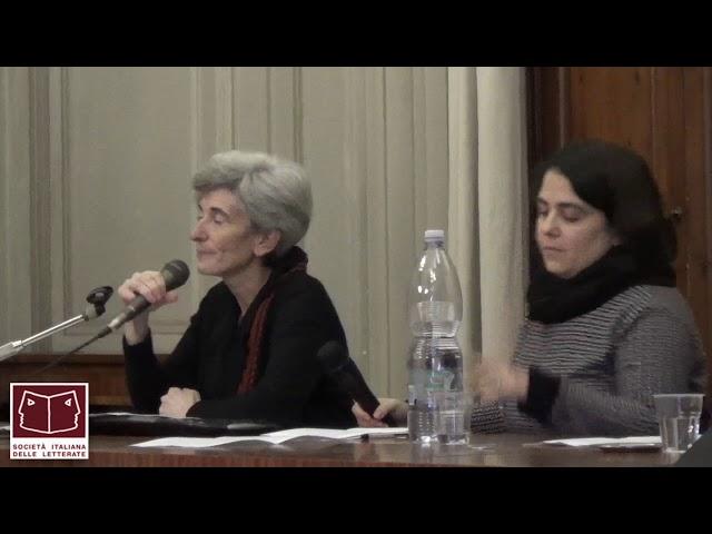 Intervento di Laura Fortini e Alessandra Pigliaru al convegno Sil Firenze 13-15 nov 2015