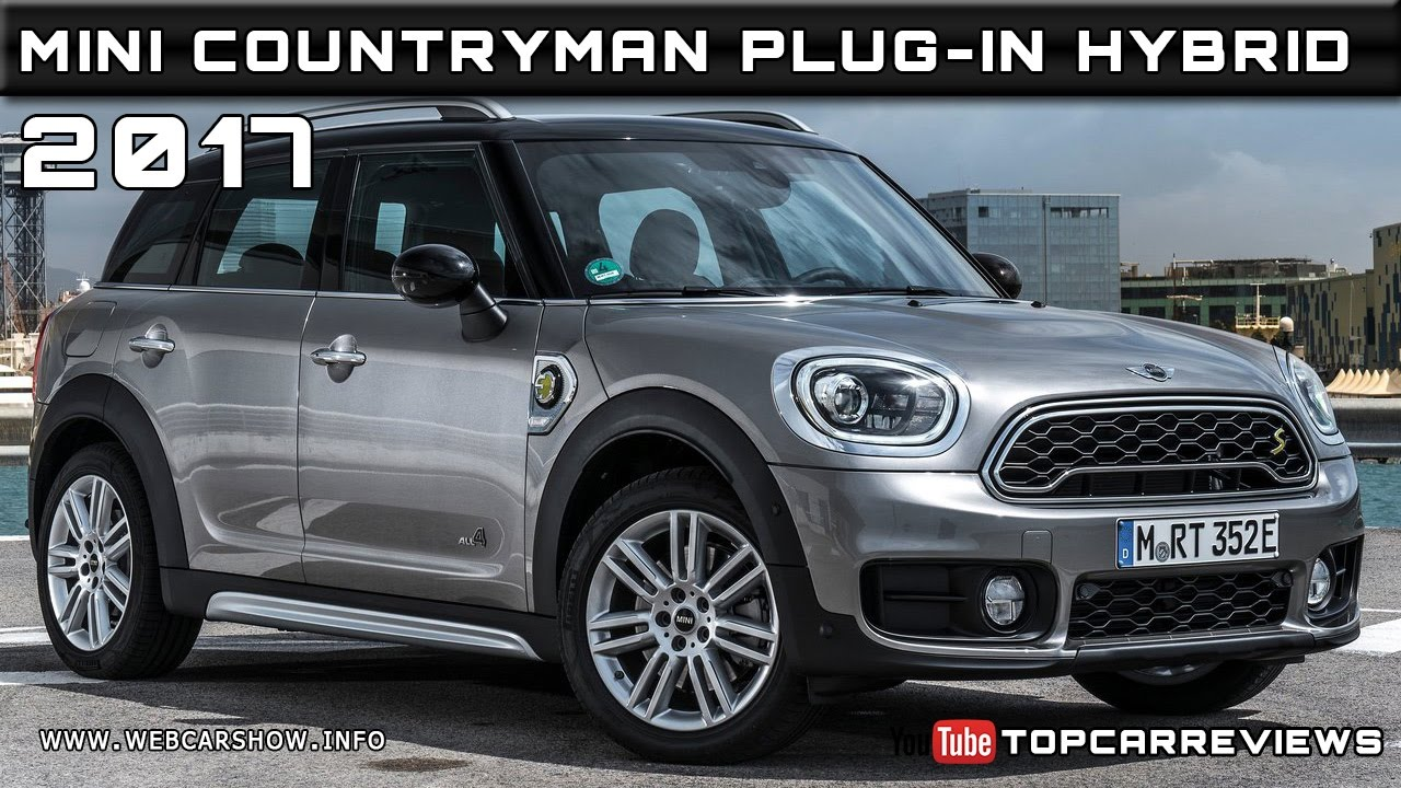 2017 Mini Countryman Plug In Hybrid Review Rendered Price Specs Release Date