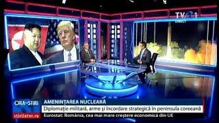 Cristian Diaconescu, despre tensiunile dintre Coreea de Nord şi SUA